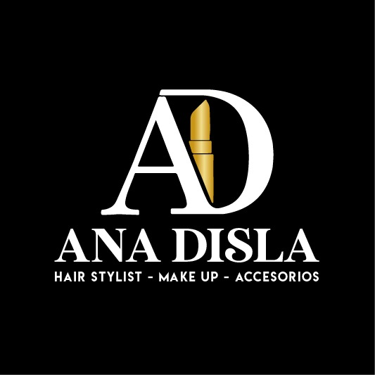 logo ana disla makeup santo domingo republica dominicana